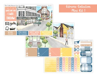 Stars Hollow Planner Stickers - Gilmore Collection - Gilmore Girls - 3 Sheets