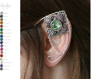 elven ear cuffs - ear cuff - elf ears - more than 10 colours available