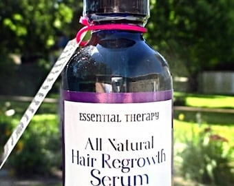 Hair Growth Serum - 100% Natural Hair Regrowth Serum - (Natural Minoxidil Alternative)