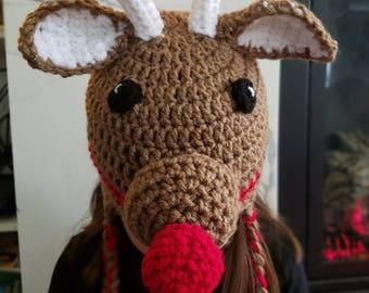 Rudolf the Red-nosed Reindeer Hat