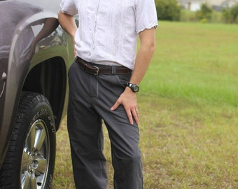 Splendid Slacks - classic meets comfort fit, flat front men's trouser