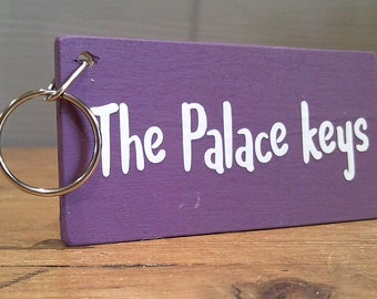 The Palace Keys. Keyring