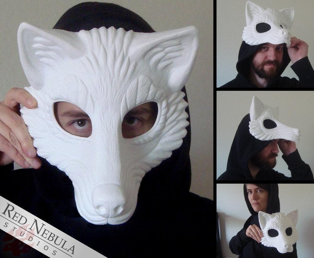 Images For Diy Wolf Mask Template Desktophddesignwall3d