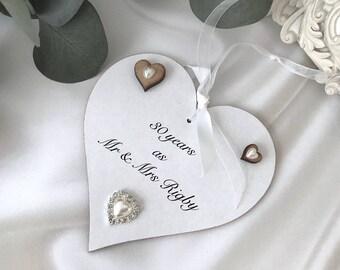 Personalised 30th Wedding Anniversary gift P110
