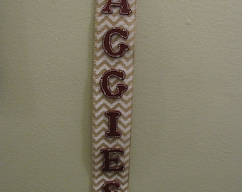 2446 Aggies wall hanging