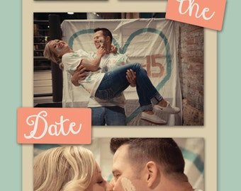 Photostrip Save The Date