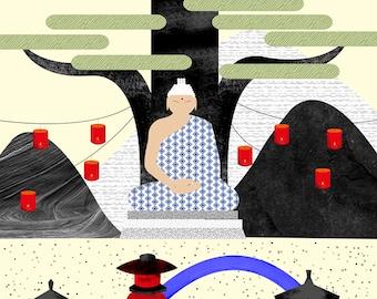 Zen and Meditation poster