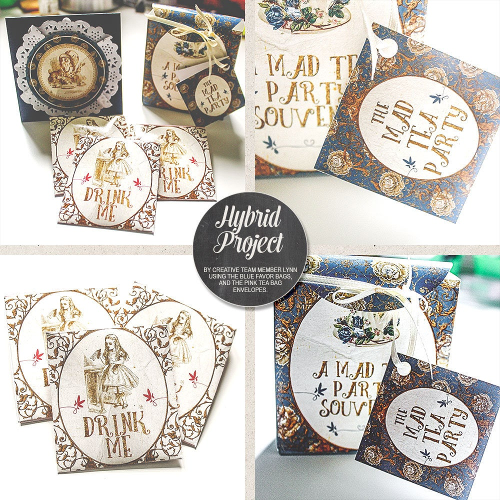 Mad Tea Party Decorations, Thank You, Printable Alice In Wonderland ...