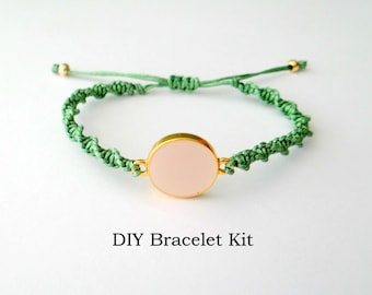 DIY Bracelet Kit - Micro Macrame Tutorial