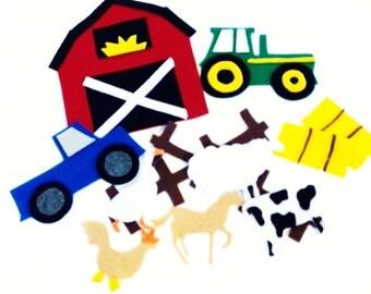 Felt Farm Theme Activity Felt Board Quiet Time