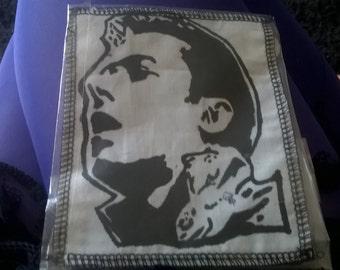 handpainted the clash joe strummer punk rock patch