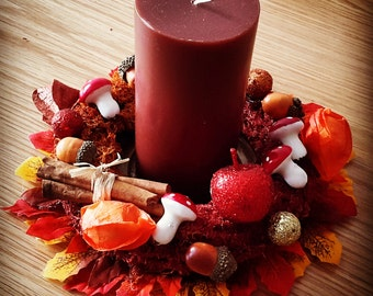 "Kit ""Crown fall"" / ""autumn wreath"" DIY materials"
