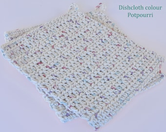 Crochet Dishcloths Potpourri