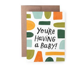 Having a Baby Card