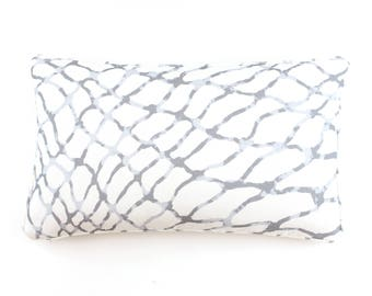 ON SALE Jeffrey Alan Marks for Kravet Waterpolo Pillows in Cloud with Self Welting (Both Sides-14 X 24)