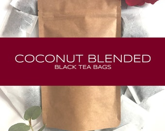 Coconut Blended Black Tea Bags