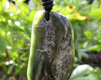 Big Sur Jade Necklace: Gem Quality