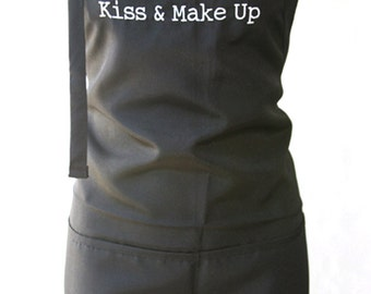 Kiss and Make Up (Adult Apron)