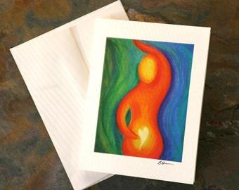 Infertility Card, TTC Card, Fertility Note Card, Infertility Support, Egg Retrieval, IVF, IUI, Fertility Treatment, Encouragement,