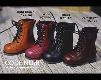 CODENOiR - Oxford boots BJD shoes for YoSD /  1/6 26 cm BJD
