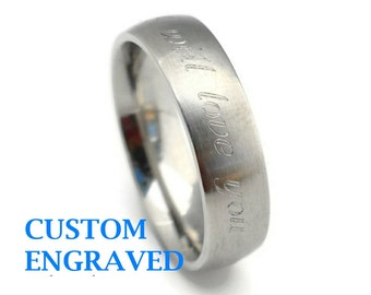 Mens custom ring Etsy