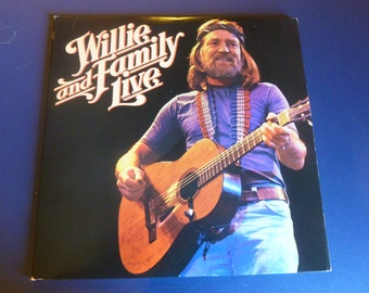 Willie and Family Live Vinyl Record KC2 35642 Double Album 1978