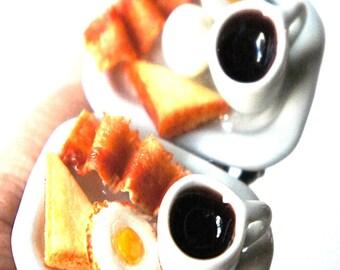 Breakfast Platter Ring- miniature food jewelry, food ring