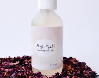 Balancing Face Toner // Witch Hazel // Rose Water // Natural // Organic // Beauty Product