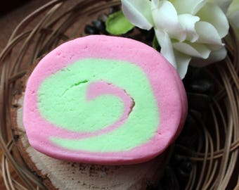 Solid bubble bar, Fairy Garden, vegan friendly, palm oil free, bubble bath, spa bubble bar, valentines day, mothers day gift, amber