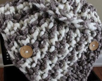 Doris Cable Knit Loop Scarf