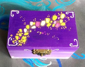 Wedding ring bearer box, Ring Box, Floating lights Ring Bearer Wedding Box Wedding Ring holder