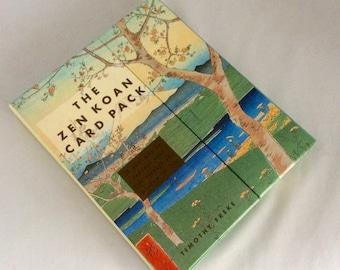 Zen cards, Zen Book, The Zen Koan Card Pack, spiritual enlightenment, 30 Koan cards, informative book, self help, guide to understanding