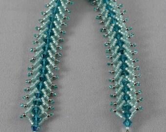 Green Flat Spiral Bracelet