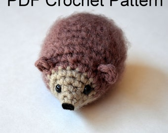 Mr. Hedgehog Amigurumi Crochet PDF Pattern
