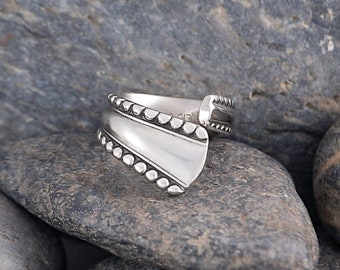 Silverware Handle Ring (Spoon Ring) Size 1 1/2 SR160