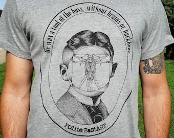 Franz Kafka Mans Tshirt , Kafka Tshirt , Cool Tshirt , Writers Tshirt , Metamorphosis Tshirt
