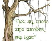 Tolkien Quote In Color - ...