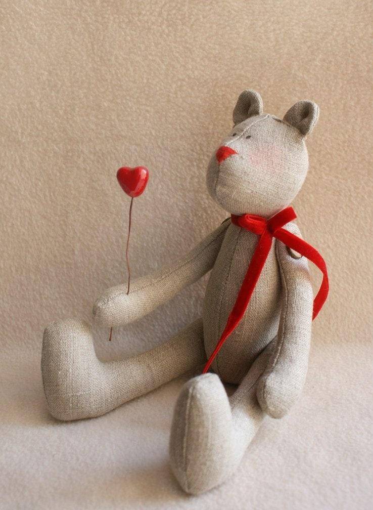 Teddy bear DIY Kit TeddyBear Sewing pattern & doll making