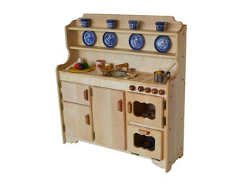 Genial Waldorf Wooden Toy Kitchen Hardwood Play Kitchen Play Stove  Hardwood Toy  Stove Hardwood Toy Kitchen Childu0027s Toy Kitchen Montessori Kitchen