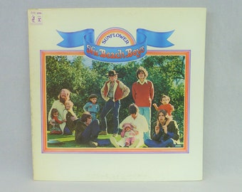 The Beach Boys - Sunflower 1970 vintage vinyl Brother 6382 stereo gatefold