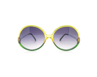 Genuine 1970s Saphira 4031 Vintage Oversized Sunglasses // Made in Germany // New Old Stock