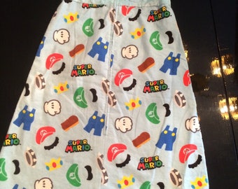 Super Mario, baby sleep sack, baby gift, baby shower gift