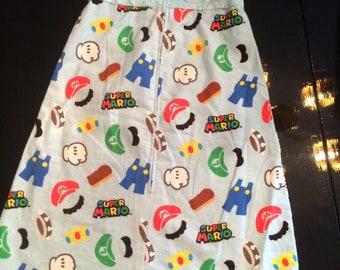 Super Mario, baby sleep sack, baby gift, baby shower gift