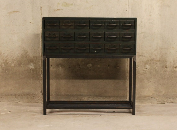 Industrial Console Table Entry Table Sideboard Metal