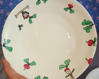 radish plate