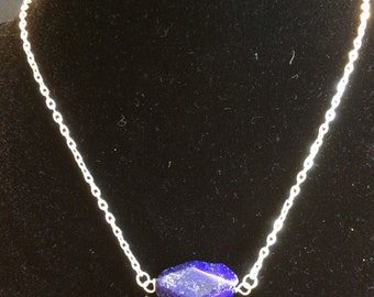 Lapis Lazuli 7 Grandfather's Teaching--Respect Necklace