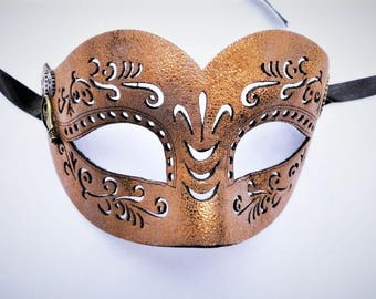 Steampunk Mask  Leather Masquerade