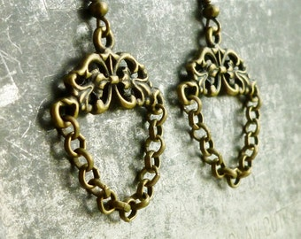 Boho Chic Vintage Style Filigree Earrings