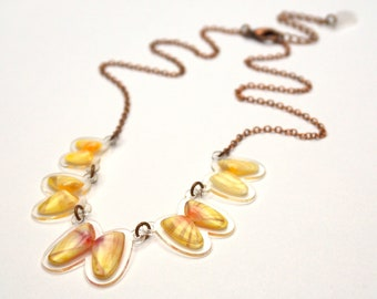 READY MADE SALE - Coquina Shell Necklace - Shell Necklace - Florida Seashell Beach Mermaid Jewelry - Yellows
