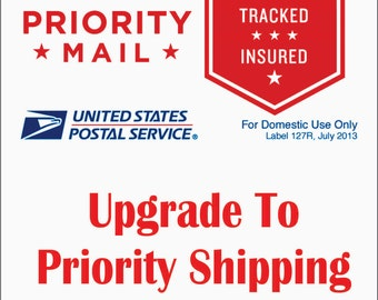 Upgrade To USPS Priority Mail Shipping